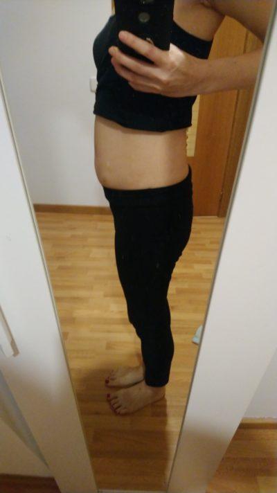 妊娠12週 お腹 写真