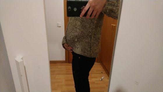 妊娠20週 お腹写真 ブログ