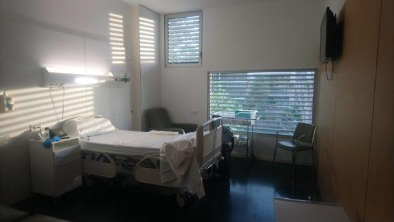 スペイン 出産 病室 個室